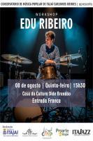Conservatório de Música Popular de Itajaí recebe workshop gratuito com Edu Ribeiro