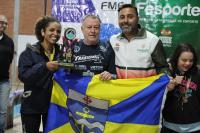 Paradesporto de Itajaí é vice-campeão de natação no Parajasc