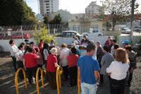 Centro de Arte e Lazer da Vila Operária cria horta suspensa para idosos