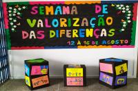 Unidades Municipais de Ensino participam da 3ª Semana de Valorização das Diferenças