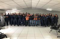 Defesa Civil realiza palestras técnicas para a Guarda Municipal
