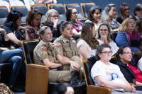 Seminário sobre prevenção de violência contra mulher reúne cerca de 100 participantes