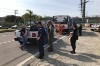 Defesa Civil realiza duas ações de fiscalização de produtos perigosos