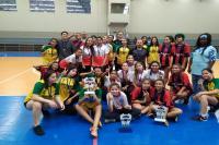 Jogos Escolares do Município têm os campões do basquetebol infantil