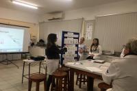Vacinadores participam de atividade de educação permanente