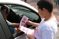 Blitze da 1ª Semana do Bem-Estar Animal abordam 700 condutores em Itajaí
