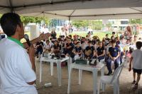 Palestras e visitas da 1ª Semana do Bem-Estar Animal envolvem quase 300 crianças de Itajaí