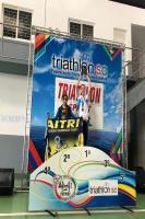 Triathlon de Itajaí conquista medalhas no Campeonato Catarinense