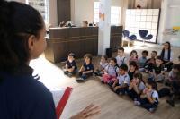 Semana da Criança movimenta a Biblioteca Pública de Itajaí