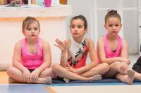 Festival de ginástica rítmica reúne mais de 200 crianças em Itajaí