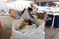 Materiais recicláveis da 33ª Marejada serão reaproveitados pela indústria como matéria-prima