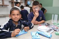 Inaugurado o primeiro Laboratório de Ciências da Rede Municipal de Ensino de Itajaí