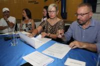 Assinadas mais duas ordens de serviço para obras em unidades de ensino no Cordeiros