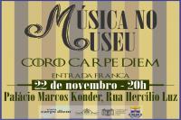 Música no Museu traz Coro Carpe Diem e Duo Girardello e Patissi