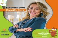 Secretaria de Educação traz palestra com Camila Cury pela Escola da Inteligência