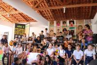 Escola de Campo Maria do Carmo Vieira promove 3º Sarau Literário