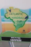 Equipe feminina de Itajaí é campeã da Atlantic Handball Cup