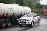 Simulado de vazamento de gás é realizado em Itajaí