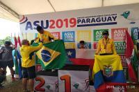 Aluno de Itajaí conquista prata no Sul-Americano de Atletismo