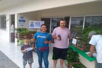 Mais de 200 mudas nativas são distribuídas à comunidade do Arraial dos Cunha