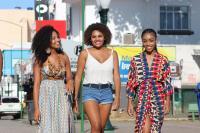 Casa da Cultura é palco de ensaio fotográfico das candidatas ao Beleza Negra Itajaí