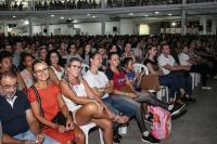 Palestra de Leandro Karnal lota o Centreventos de Itajaí