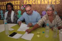 Assinada ordem de serviço para reforma e ampliação de creche no Limoeiro