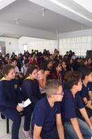 Escola Alberto Werner realiza roda de conversa sobre o Coronavírus