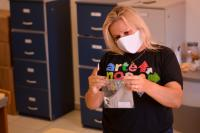 Fundação Cultural produz mais de 500 máscaras reutilizáveis para doação