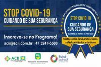 Estabelecimentos de Itajaí que servem alimentos terão selo de boas práticas de prevenção ao coronavírus