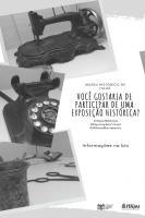 Museu Histórico abre inscrições para exposição online dos 160 anos de Itajaí