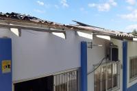 Unidades de ensino da Rede Municipal de Ensino são afetadas pela passagem do ciclone