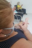CEPICS oferece grupo terapêutico de Reflexoterapia