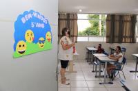 Estudantes da Rede Municipal de Ensino de Itajaí voltam às aulas