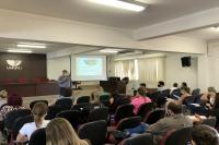 Município qualifica gerentes de unidades de saúde de Itajaí