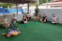Centro de Educação Infantil do bairro São Roque realiza contação de história