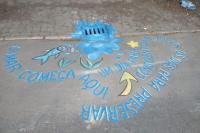 Centros de Educação em Tempo Integral (CEDINS) e Banda Filarmônica realizam ação no Dia Mundial da Água