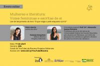 Live de lançamento de livro pauta a relação entre mulheres e literatura