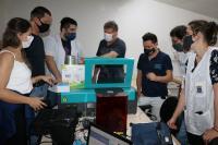 Educação recebe doação de equipamentos para Laboratório Maker