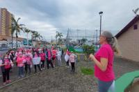 Município de Itajaí promove ações de prevenção ao câncer durante o Outubro Rosa