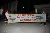 Festa de Cultura A�oriana movimenta escola de Itaja�