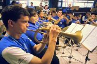 Bandas e Fanfarras se preparam para Festival em Itaja�