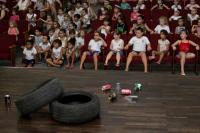 Centro de Educa��o Infantil promove pe�a teatral sobre a Dengue