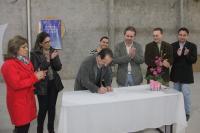 Ordem de Servi�o para reforma e amplia��o de Unidade Escolar � assinada