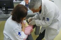 Vacina��o contra a poliomielite termina na pr�xima segunda-feira