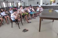 FAMAI realiza atividade educativa em col�nia de f�rias