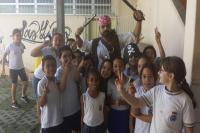 Exame de vista � realizado na Escola B�sica Ant�nio Ramos