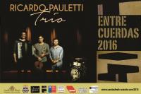 Ricardo Pauletti Trio viaja ao Chile para participar do Festival Entrecuerdas