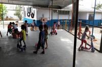 Muitas atividades marcam os primeiros dias de aula no CEI Padre Jacob