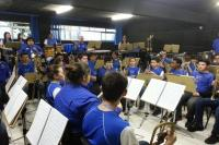 Comitiva de Rio Negrinho vem conhecer a Banda Filarmônica de Itajaí